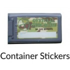Geocache Container Stickers