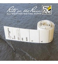 "1.5cm (0.6"") Wide MICRO Geocaching Log Sheets (5, 10 or 20 Pack)"