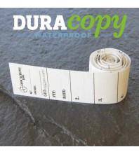 """1.5cm (0.6"""") Wide MICRO Geocaching Log Sheets WATERPROOF (5, 10 or 20 Pack)"""