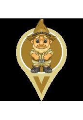 GEOLoggers Garden Gnome (NOT FOR EU/UK)