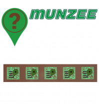 5 x EARTH Mystery Stickers