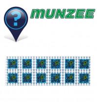 5 X MICRO Mystery Munzee Stickers
