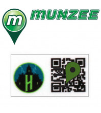 1 x Hotel Mini Munzee Sticker