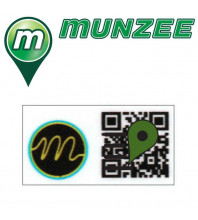 1 x Motel Mini Munzee Sticker