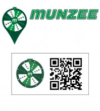 5 x Prize Wheel Munzee Stickers