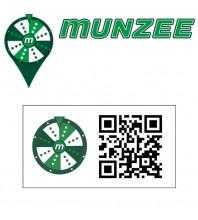 5 x Prize Wheel Munzee Stickers