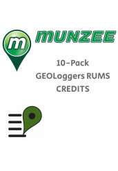 10 x GEOLoggers Reseller Unique Munzees (RUMs) CREDITS (NOT FOR EUROPE/UK)