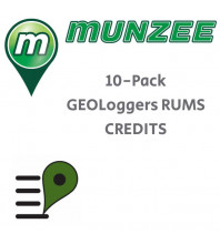 10 x GEOLoggers Reseller Unique Munzees (RUMs) CREDITS (NOT FOR EU/UK)