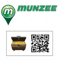 10 x Treasure Evolution Munzee Stickers