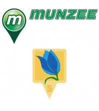 1 x Tulip Evolution Munzee Sticker