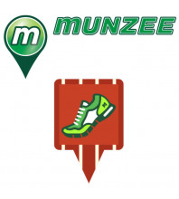 10 x Urban Fit Munzee Stickers