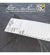 "3.5cm (1.5"") Wide SMALL Geocaching Log Sheets (5, 10 or 20 Pack)"