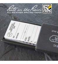 "3cm (1.2"") Wide SMALL Geocaching Log Sheets (5, 10 or 20 Pack)"