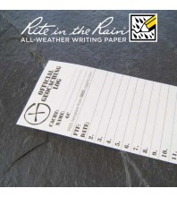 "5cm (2"") Wide SMALL Geocaching Log Sheets (5, 10 or 20 Pack)"