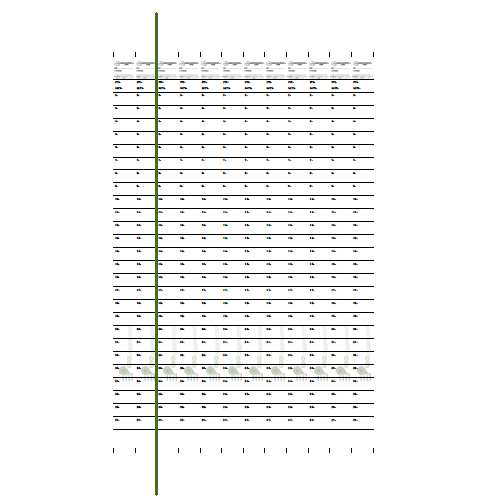 image regarding Geocache Log Strips Printable named 1.5cm (0.6\